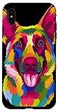 iPhone XS Max Pop Art German Shepherd Doggie Gift Men Women Pet Dog Lover Case