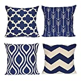 WEYON Geometric Throw Pillow Covers