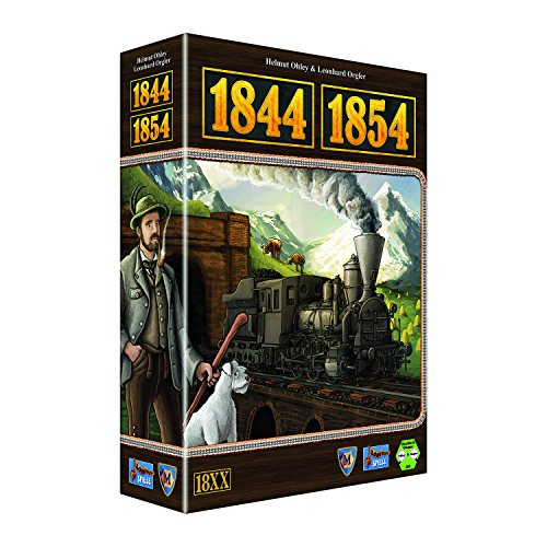 Lookout Games 22160081 - 1844/1854 Brettspiel