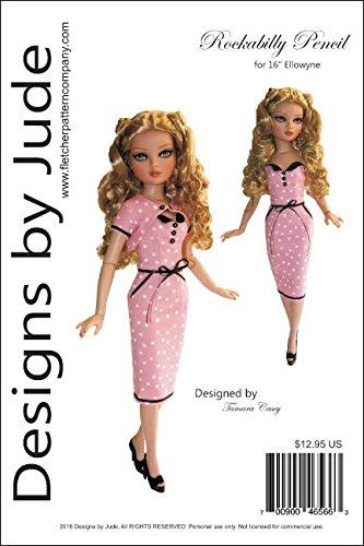 Rockabilly Pattern for 16' Ellowyne Wilde Dolls Tonner
