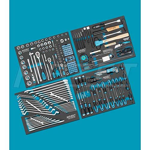 Hazet Werkzeug Sortiment 0-179NW/230 Werkzeug-Set, schwarz/blau, 230-teilig