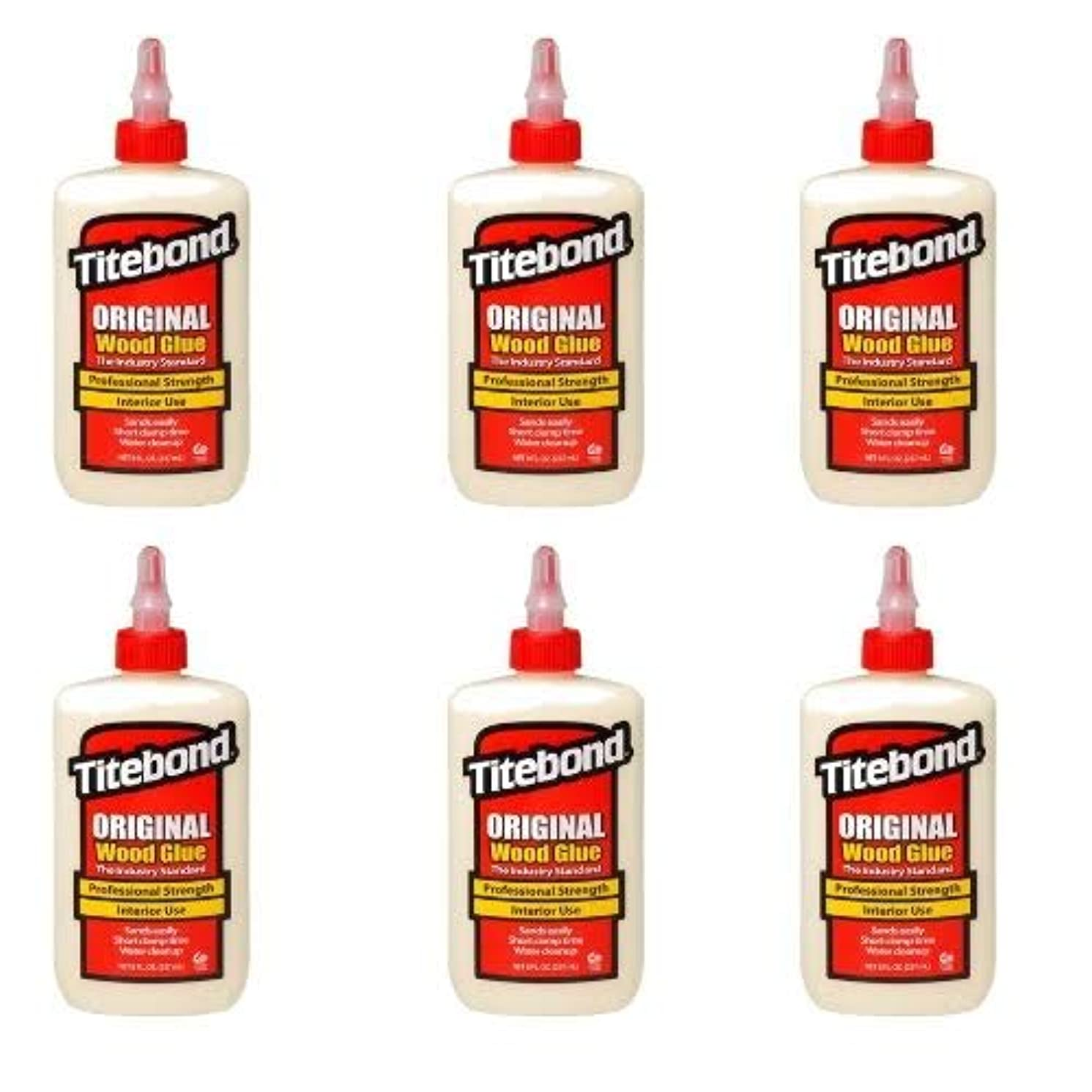 Titebond 5063 Original Wood Glue, 8-Ounces 6 PACK