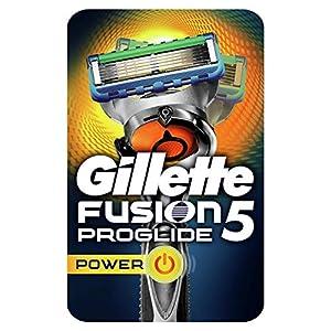Gillette Fusion5 ProGlide - Maquinilla Power, con Tecnología FlexBall Que se Adapta a los Contornos