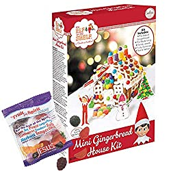 Elf on the Shelf gingerbread cookie decorating kit