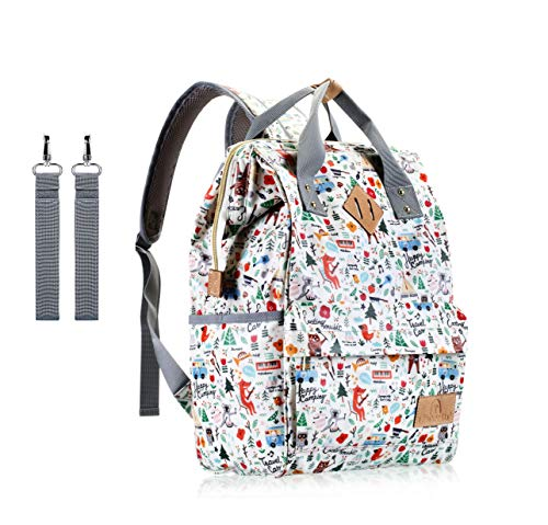 Diaper Bag Backpack,IHONEY Waterproof...