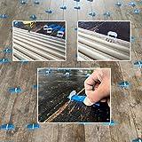 Lantelme sistema di livellamento delle piastrelle 3 mm di larghezza del giunto set di base...