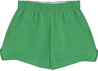 Girls' Youth Authentic Short, Lt. Turquoise