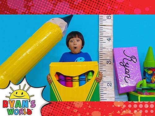 Ryan's Magical Back-to-School Supplies!