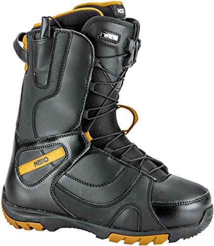 Nitro Snowboards Damen Snowboard Boot CUDA TLS'18, Black, 25, 5, 1181-848416