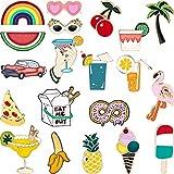 20 Pieces Cute Enamel Lapel Pin Set Cartoon Brooch Pin Badges Brooch Pins for Clothing Bag...