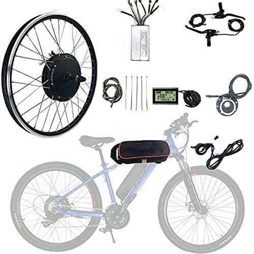 CHEIRS 48V 1000W 20'/ 24' / 26'/27.5' / 28'/ 29' / 700C Kit de Bicicleta Eléctrica de Motor de Rueda Trasera de Bicicleta eléctrica con Pantalla LED,SpinningFlywheel-29INCH