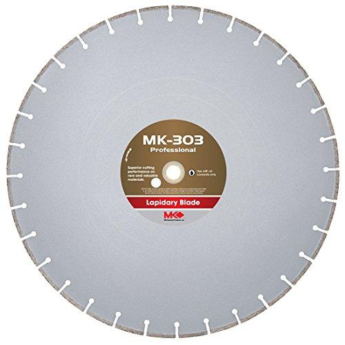 MK Diamond 156729 MK303 Wet Cutting Lapidary Diamond Blade, 18-Inch