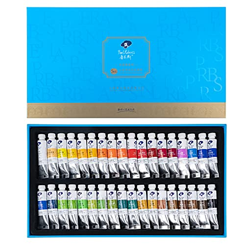 Paul Rubens Watercolor Paint, 36 Vibrant Colors Rich Pigments for Watercolor Painters, Students, Beginners, Hobbyist, Ideal for Many Watercolor Applications (5ml Each Tube)