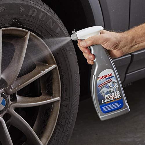 SONAX XTREME Felgenreiniger PLUS (750 ml) - effiziente Reinigung aller Leichtmetall- und Stahlfelgen sowie lackierte, verchromte und polierte Felgen | Art-Nr. 02304000
