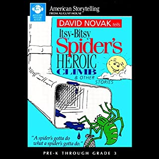Itsy-Bitsy Spider's Heroic Climb and Other Stories cover art