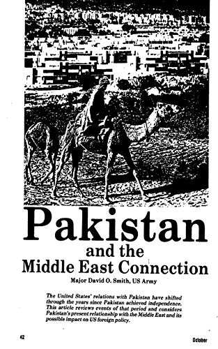 Pakistan and the Middle East Connec…