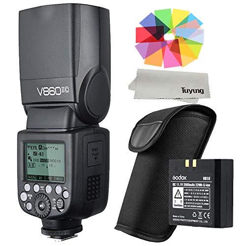 GODOX VING V860II-C 2.4 G GN60 TTL 1/8000S HSS マスタスレーブ GN60 スピードライト フラッシュ 2000mAh...