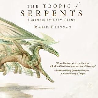 Tropic of Serpents audiobook cover art