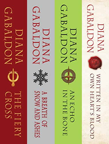 The Outlander Series Bundle: Books 5, 6, 7, and 8: The Fiery Cross, A Breath of Snow and Ashes, An Echo in the Bone, Written in My Own Heart's Blood (Outlander Bundle Book 2)