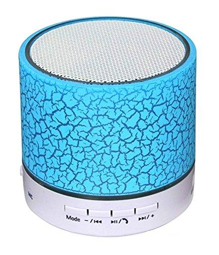 Mini Bluetooth Portatile LED Si illumina Altoparlante Della Lampadina, Altoparlanti Bluetooth LED Lampeggiante, Lampada Cambiante RGB Audio Stereo Senza Fili Con Telecomando