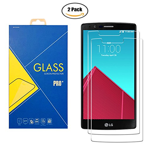 [2 Pack] Protector Cristal Vidrio Templado LG G4 ( H815 / H818...