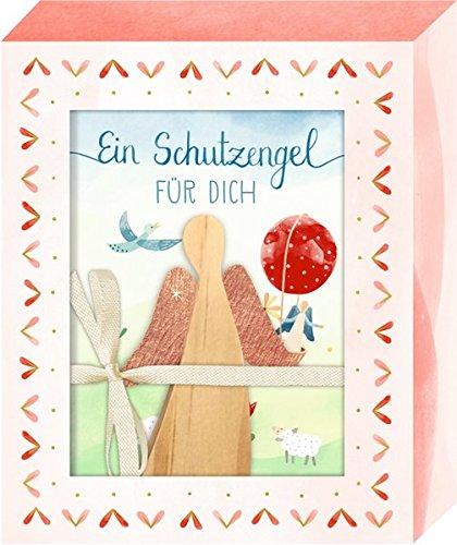 Geschenkbox - Ein Schutzengel für dich: Kleiner Holzengel mit Buch