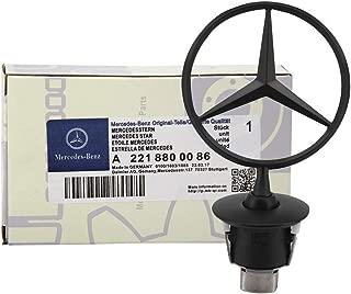 Danenen For Mercedes Benz Emblem; Benz 3D Matte Black Logo;all S serie;W124 W210 E-Class W202 W203 C Class W204 C Class W220 S Class 1994-2007;A 221 880 00 86;E serie,C serie,W series