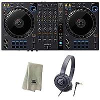 Pioneer DJコントローラー DDJ-FLX6 + ヘッドホン + クリーニングクロス セット (rekordbox・Serato DJ Pro対応)
