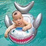 AIU Baby Schwimmsitz Kleinkinder Schwimmhilfe Haifisch Schwimmsitz