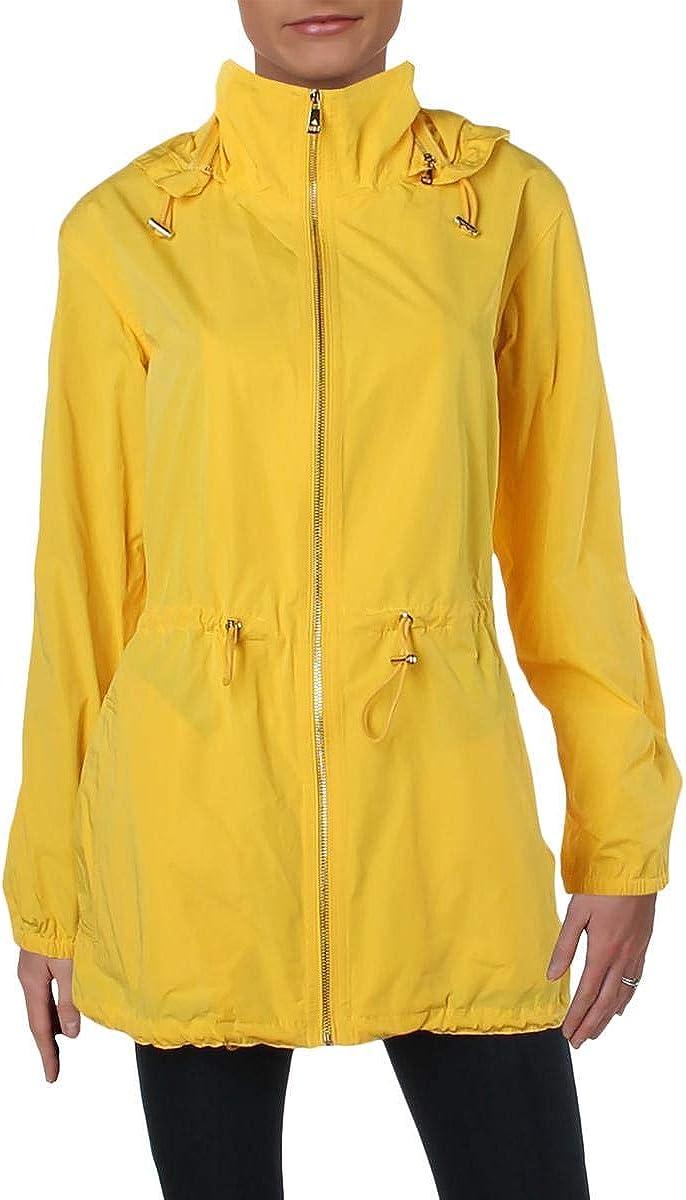 Lauren Ralph Lauren Womens Fall Raincoat Anorak Jacket