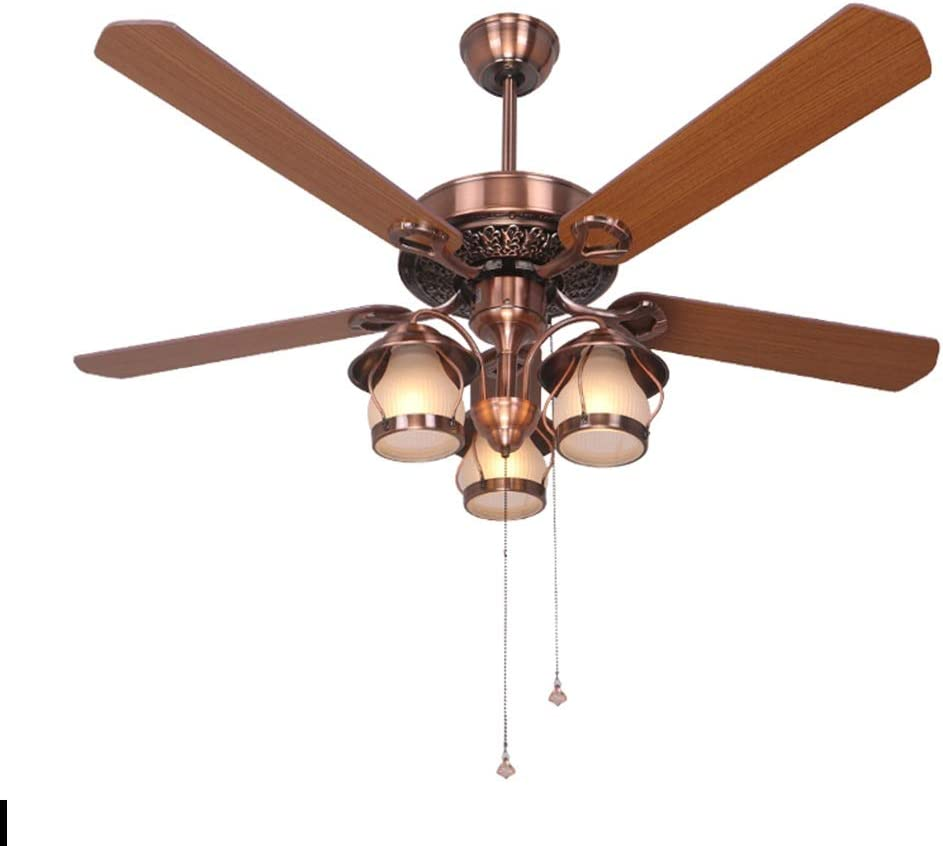 ZHONGTAI Ceiling Fan with Lights NEW Light Outlet sale feature Decorative wi