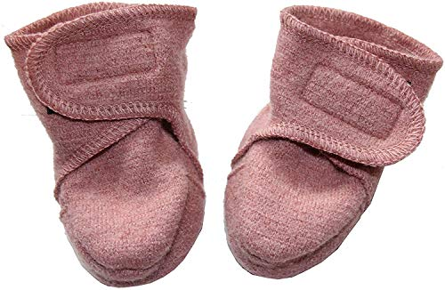 Disana Walk-Schuhe aus 100% Merino-Schurwolle (02 (8-12 Mon.), rosé)