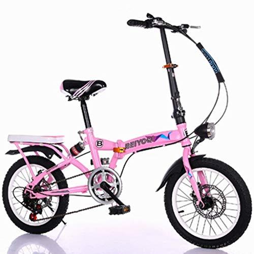 Fietsen, vouwfiets, ultralicht, draagbaar, schokdemper-schakelfiets, mannelijk en vrouwelijk, volwassenen, kleine fiets
