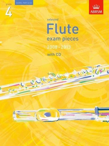 Selected Flute Exam Pieces 2008-2013, Grade 4 Score, Part &