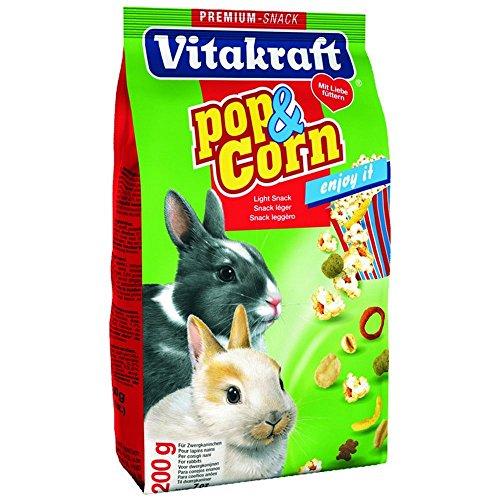 Vitakraft Pop & Corn Zwergkan 200gr–Snack Nagetiere