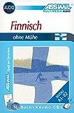 Assimil. Finnisch ohne Mühe. Multimedia-Classic. Lehrbuch + 4 Audio-CDs, 145 min. Tonaufnahmen