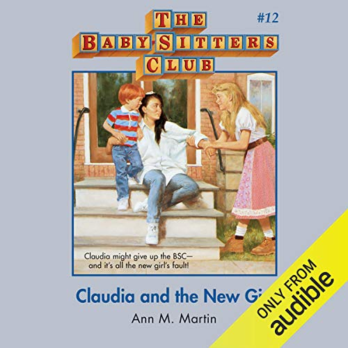 Claudia and the New Girl audiobook cover art