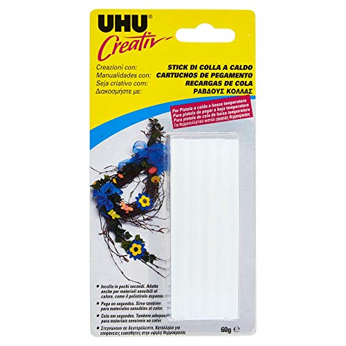 UHU D1522/44180 Colla a Caldo per Pistola a Bassa Temperatura
