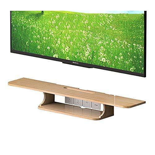 TV-skåp, TV Lowboard, flytande hyllor, tv-set-boxhylla, 60/80/100 / 120cm flytande TV-konsol, för hem och kontor, spara golvyta och lätt att rengöra. (Size : 120cm)