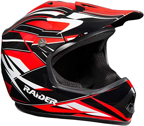 Raider 2131015 GX3 Unisex-Child MX Off-Road Helmet...