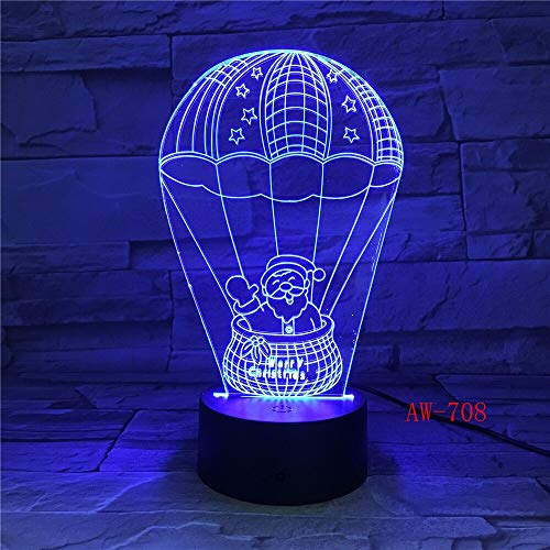 Fancy Baby Led Night Lamp Snowman Nightlight for Kids Bedroom Decor Operated Atmosphere Pretty 3D Night Light