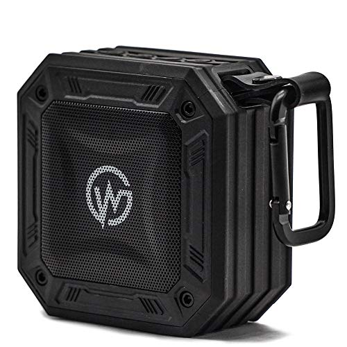 WOOKY AQUASTONE-10 5W Wireless Waterproof Bluetooth Portable Outdoor Speaker (Black)
