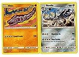 Evolution Set - Onix STEELIX - Sun Moon Lost Thunder - 2 Card LOT Rare