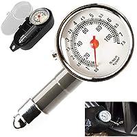 Tumao Medidor de Presión Neumáticos - Manómetro Presión Ruedas, Medición Rápida y Precisa, para Medidores de Presión de Neumáticos de Automóviles, Motocicletas, Bicicletas, SUV, RV o ATV etc