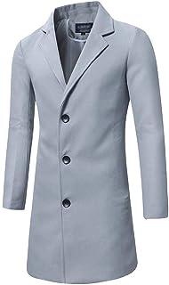 Cappotto Resistente agli Uomini Caldo Cappotto Invernale Cappotto Stile Semplice Cappotto Invernale Tinta Unita Tempo Libe...