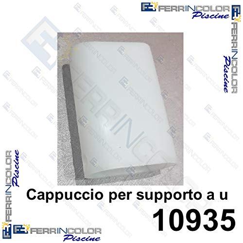LEGNAGOFERR - INTEX 10935 Stückzahl 10 Kappen für U-Stütze für rechteckige Ultra Frame Rahmen 549/732/975 Intex Store