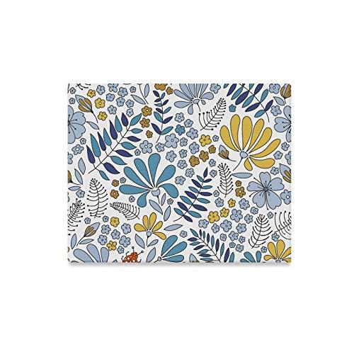 XiexHOME Hängende Wandmalerei Wilde Elegante Blume Gras Büro Wandfarbe hängen Wanddekor Druck Dekor für Zuhause 20x16 Zoll