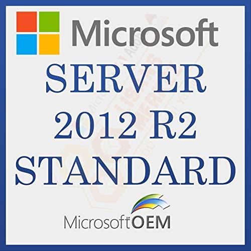 MS Server 2012 R2 Standard | Avec Facture | Version complète, licence à vie initiale, code d'activation de la licence par courrier électronique et délai de livraison des messages: de 0 à 6 heures