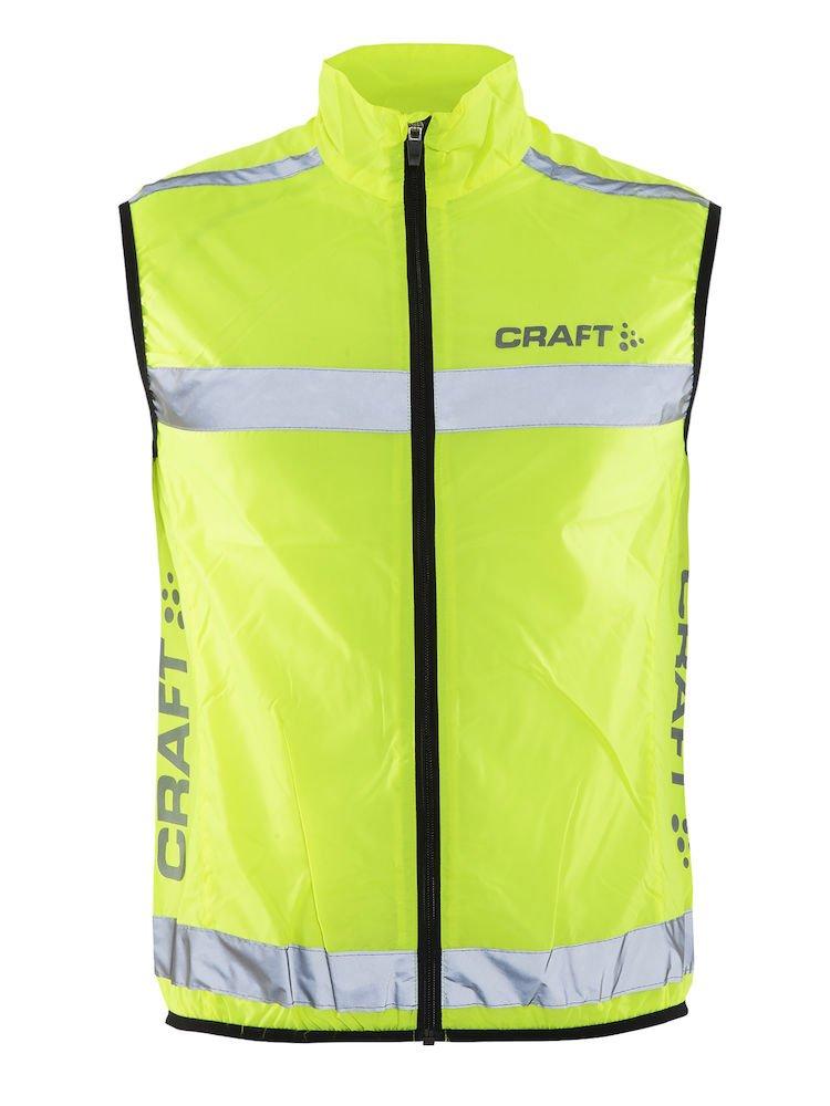 Craft Weste Visibility Vest Warnweste, neon, XL