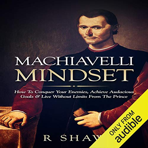 Machiavelli Mindset Audiobook By R Shaw cover art